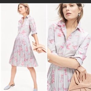 Banana Republic pleated dress. Brand new with tag
